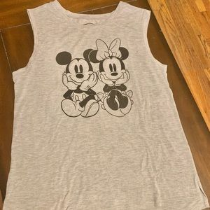 Disney Mickey and Minnie Mouse Tank Top